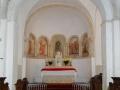 Église de Savigny - chœur et abside © Annie Drieu