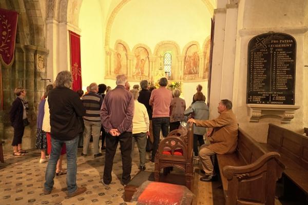 Savigny - église Notre Dame - JEP 2018 - visite guidée - © Annie Drieu