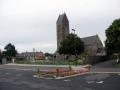N-D de Savigny - place de l'église ©Eliane Legoubin