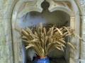 Notre Dame de Savigny - chapelle sainte Barbe -Lavabo© Annie Drieu