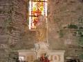 Notre Dame de Savigny - autel de sainte Barbe © Annie Drieu