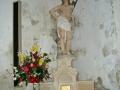 Église de Savigny - autel st Sébastien © Annie Drieu