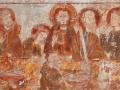 Église de Savigny - La Cène - personnages du centre © Annie Drieu