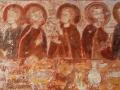 Église de Savigny - La Cène - personnages à la gauche du Christ © Annie Drieu