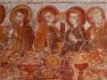Église de Savigny - La Cène - personnages à la droite du Christ © Annie Drieu