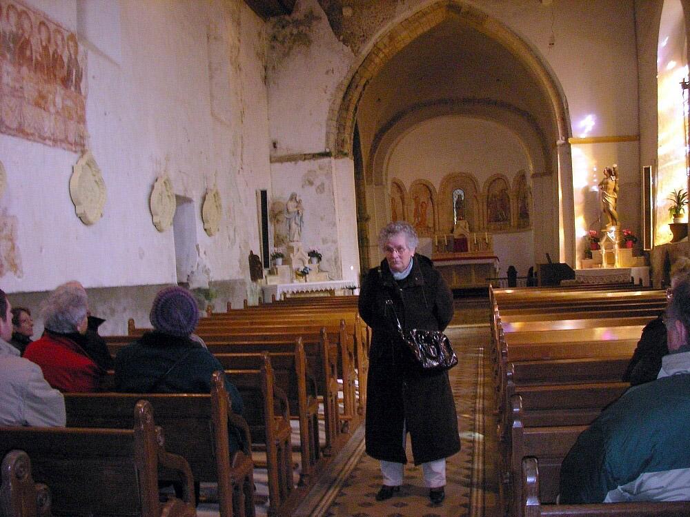Visite église de Savigny 2013
