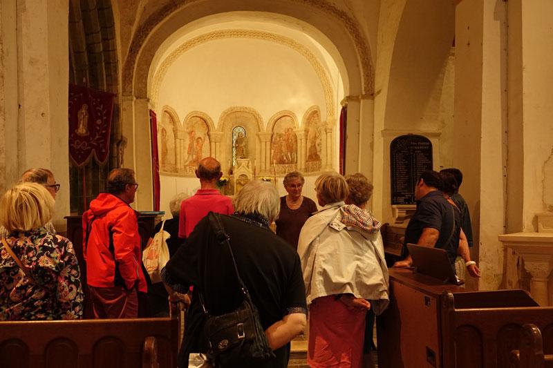 Savigny- Visite guidée du 7 août 2018 -  ©Annie Drieu