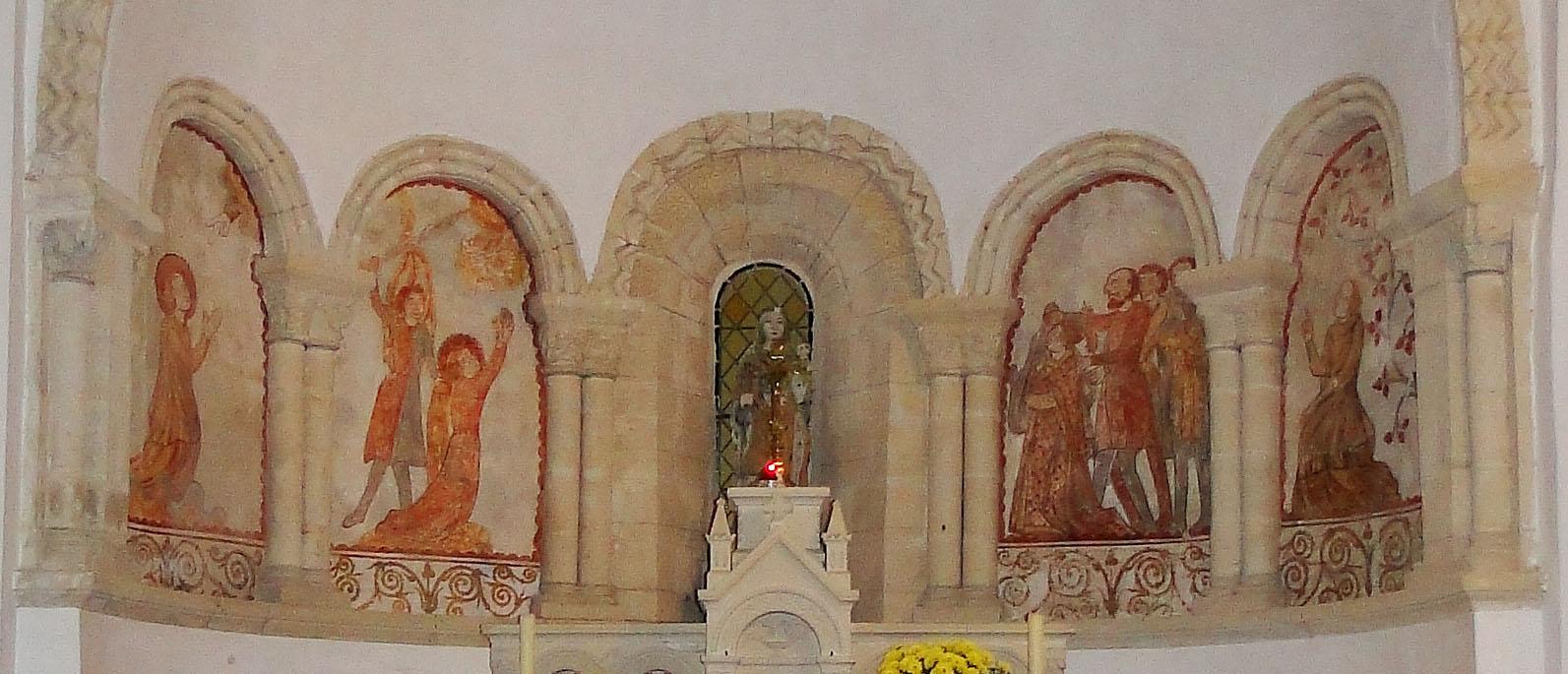 Notre-Dame de Savigny - Cycle de Ste Barbe