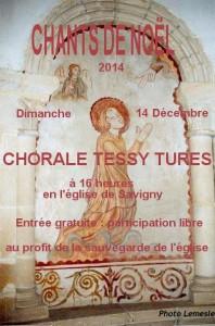 Savigny - Affiche Noel 2014