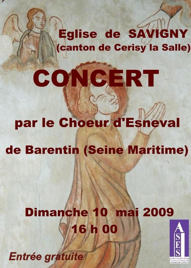 ASES Affiche concert 052009