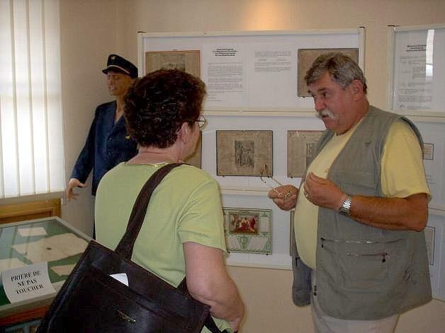 Exposition La poste : visiteurs