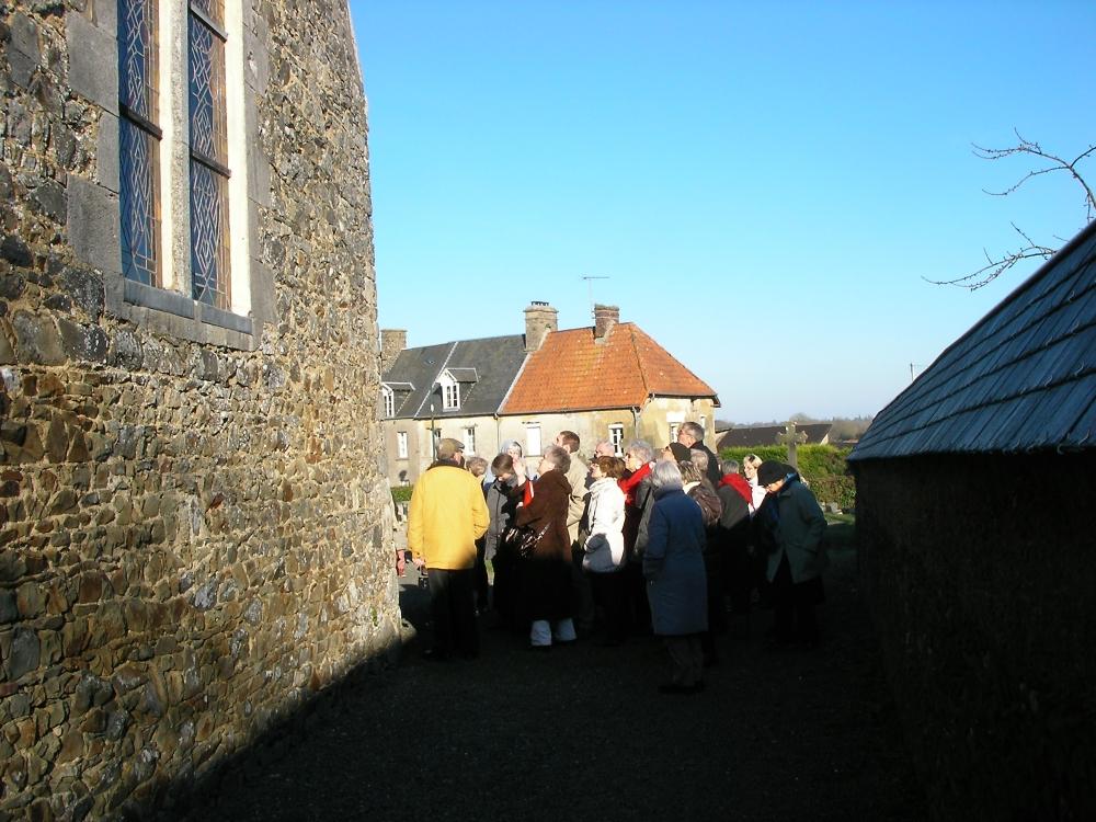Visite guidée de l'église de Savigny - févier 2013
