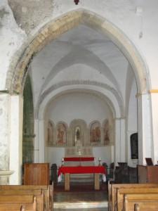 Savigny - croisée des transepts, chœur et abside