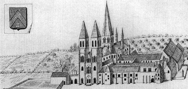 Savigny - Abbaye de Sainte Barbe en Auge