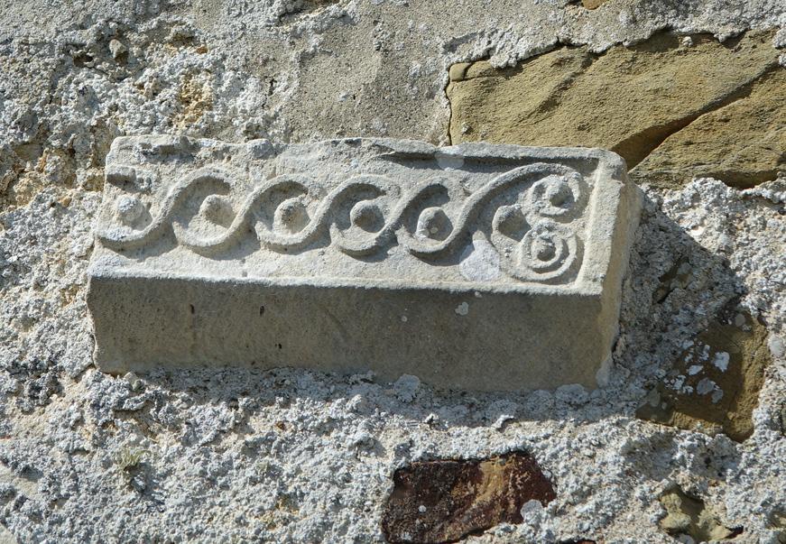 Savigny - Frise mur sud